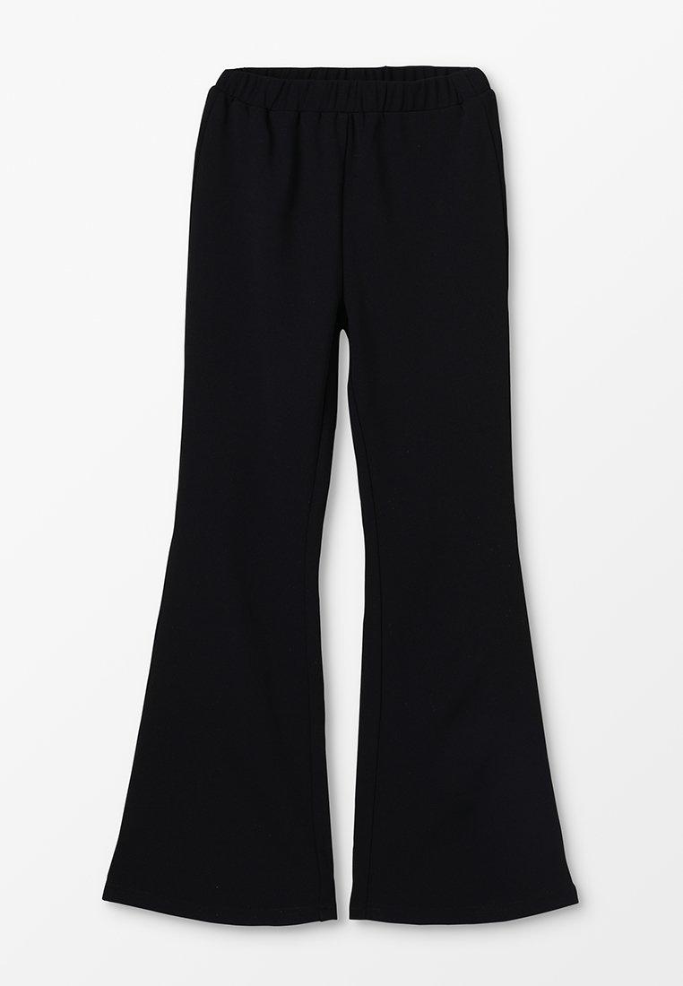 Grunt - METTE TRUMPET PANT - Trousers - black