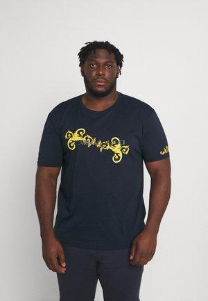 RANKE BIG - T-shirt print - navy