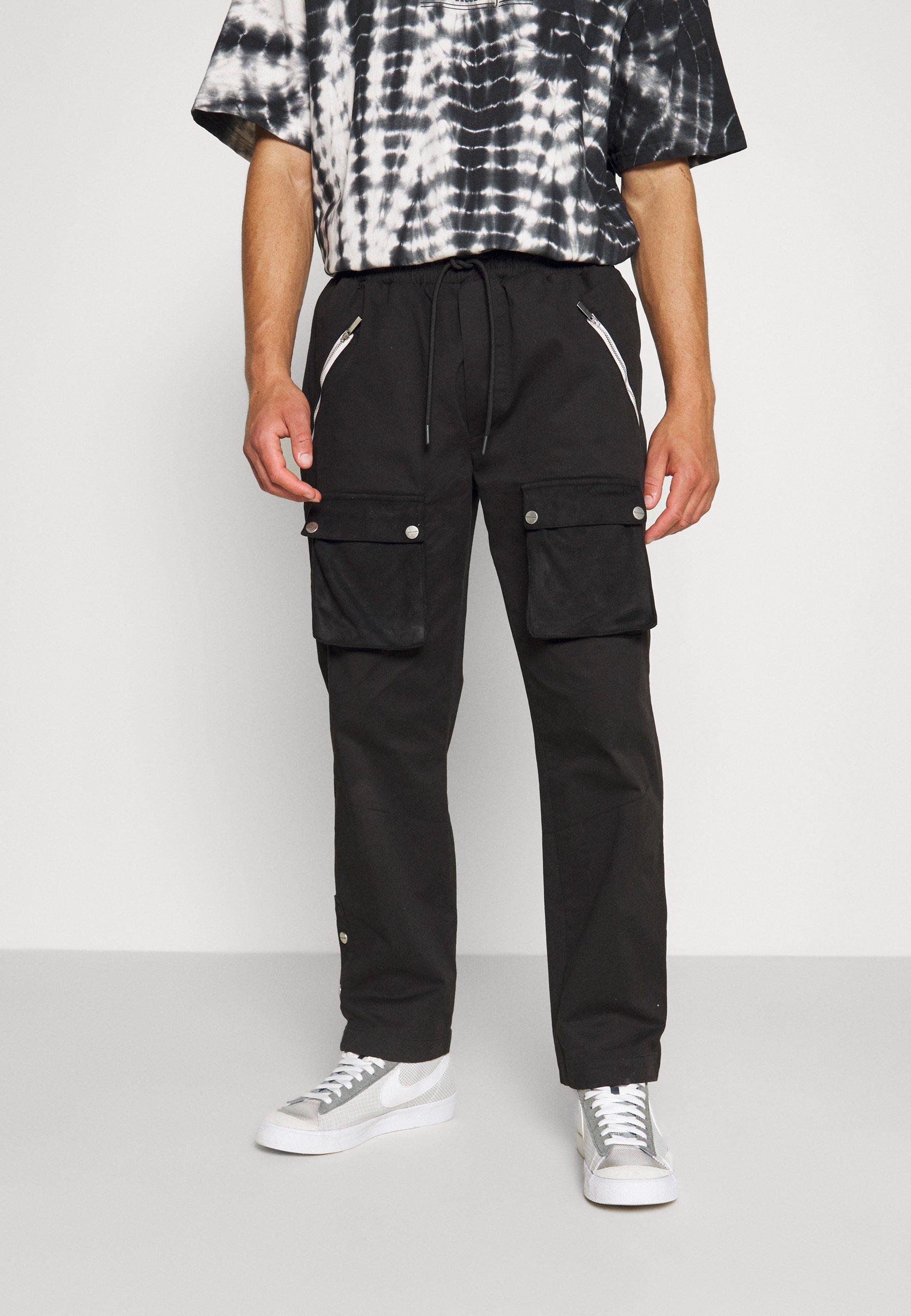 Women PUNCH FRONT POCKET PANTS UNISEX - Cargo trousers