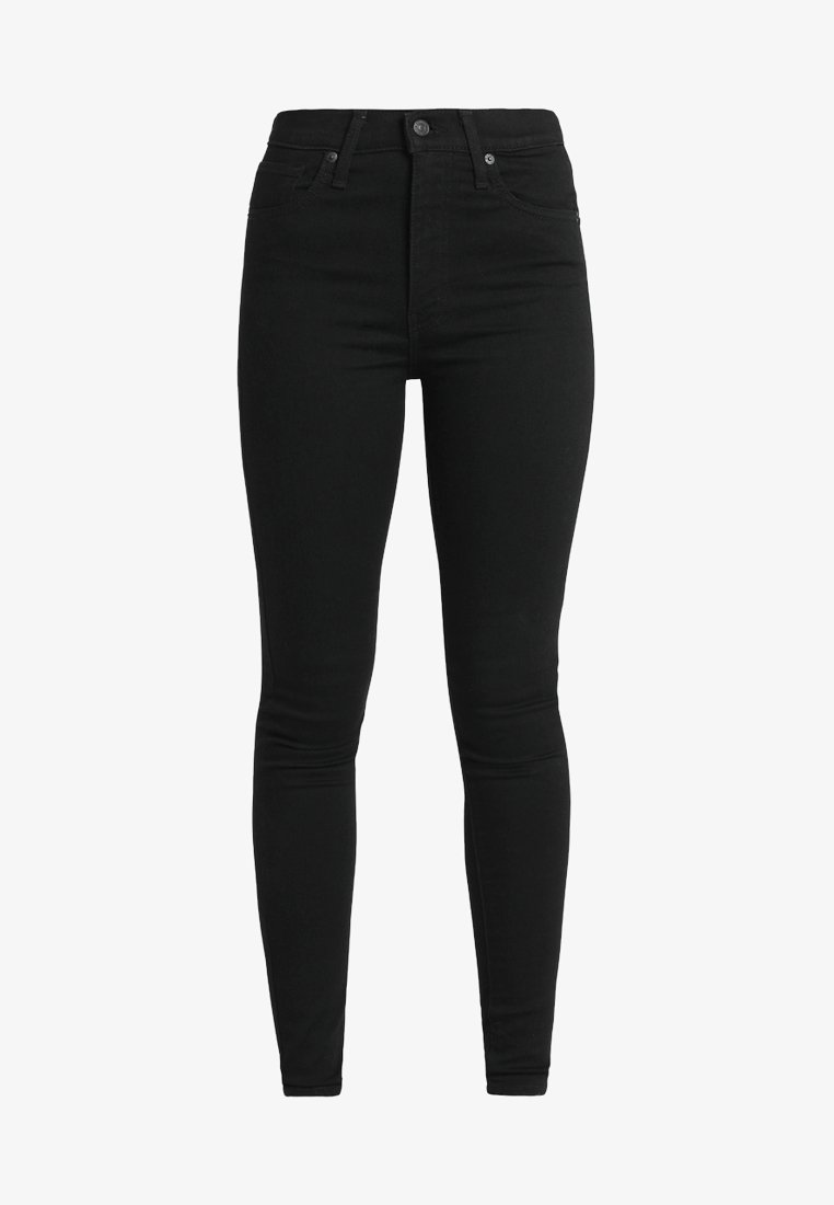 Levi's® MILE HIGH SUPER SKINNY - Jeans Skinny Fit - black galaxy/black denim mZdSmQ