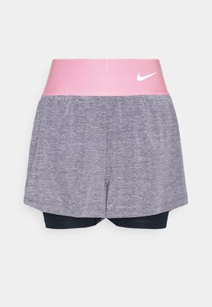 ADVANTAGE SHORT - Sports shorts - obsidian/white