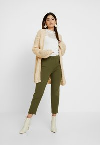 J.CREW PETITE - CAMERON SEASONLESS - Trousers - frosty olive - 2