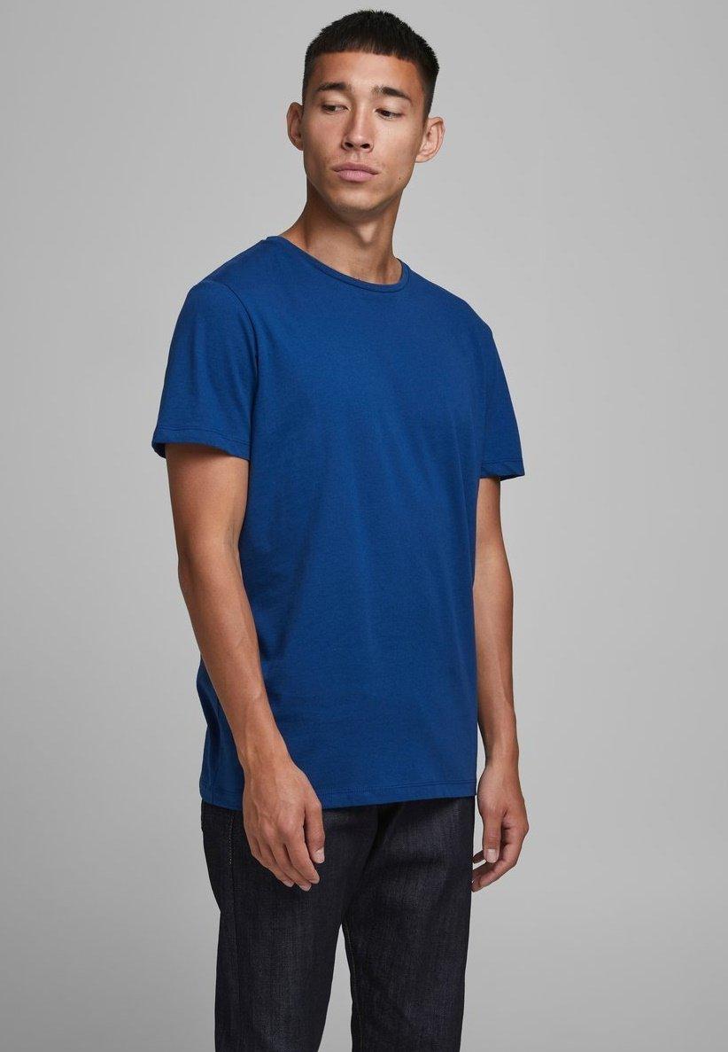 Jack & Jones Print T-shirt - navy peony EXeTc