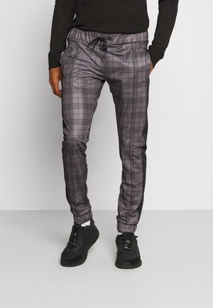 TONY - Trousers - grey/black