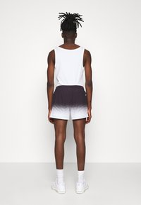 11 DEGREES - DOT FADE SWIM SHORTS - Shorts - black/white - 2