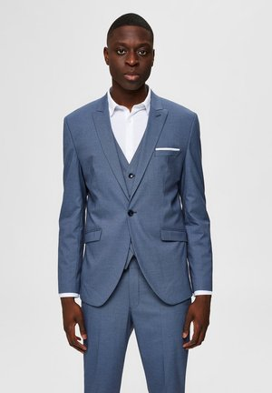 SELECTED HOMME BLAZER - Suit jacket - ashley blue