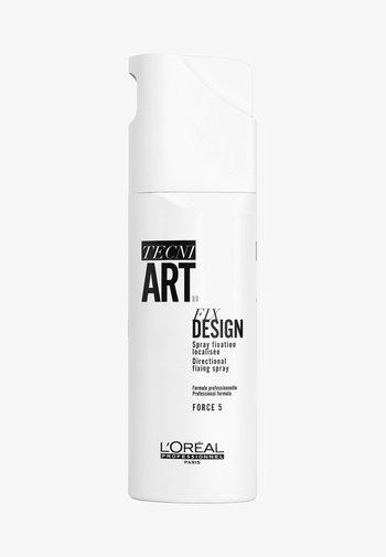 L'ORÉAL PROFESSIONNEL, FIXIERENDES HAARSPRAY FÜR EXTRA STARKEN HALT, TECNI.ART FIX DESIGN VAPO - Hair styling - -