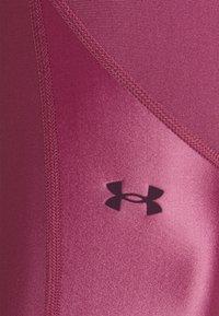 Under Armour - SHINE LEG - Tights - pink quartz - 5