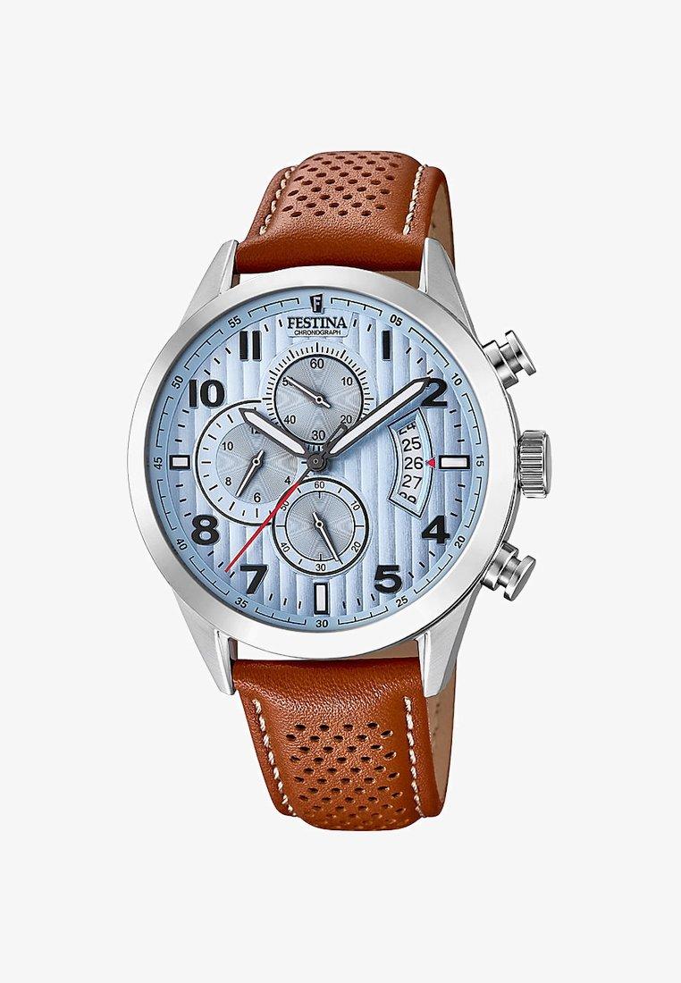 Festina - Chronograph watch - brown