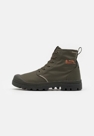 PAMPA LITE+ WP+ UNISEX - Lace-up ankle boots - olive night