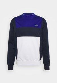 Lacoste Sport - TENNIS BLOCK - Collegepaita - bleu/bleu marine/blanc - 5