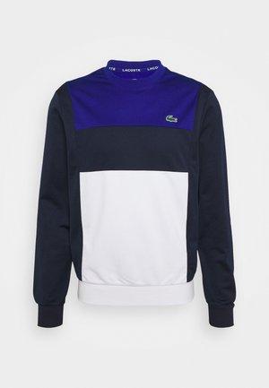 TENNIS BLOCK - Felpa - bleu/bleu marine/blanc