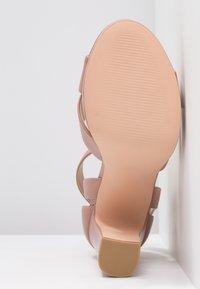 Even&Odd - Sandalen met hoge hak - light pink - 6