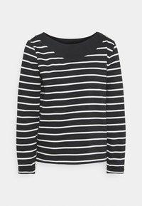 Esprit - STRIPED - Sweatshirt - black - 0