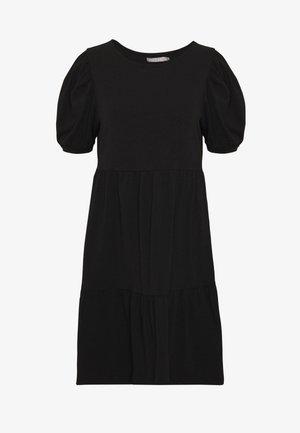 PCTERESE DRESS - Jersey dress - black