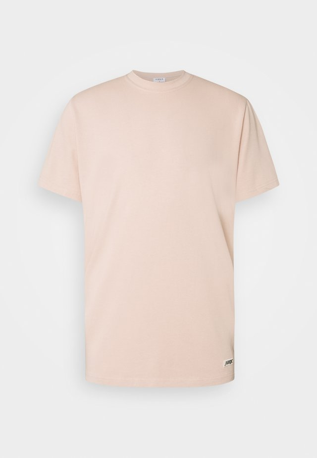 BOX LOGO TEE - T-shirt basic - rose dust