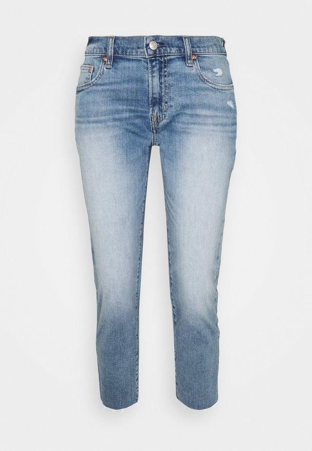Straight leg jeans - medium indigo