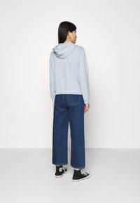 Trendyol - veste en sweat zippée - celestial blue - 2