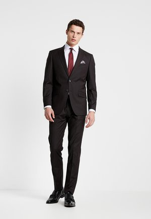 SUIT REGULAR FIT - Traje - bordeaux