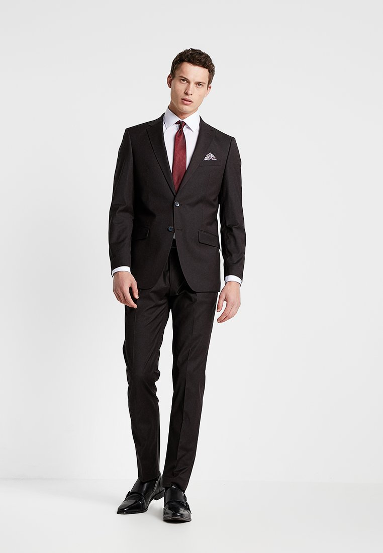 Bugatti - SUIT REGULAR FIT - Suit - bordeaux