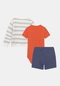 Carter's - STRIPE SET - Print T-shirt - orange - 1