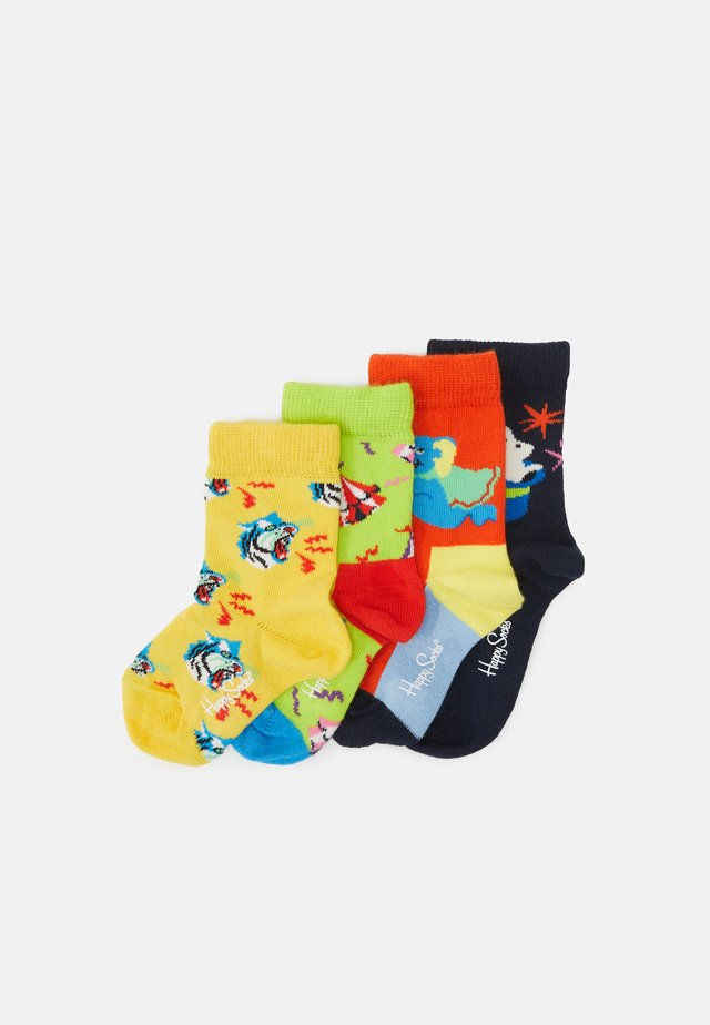 CIRCUS SOCKS GIFT SET 4 PACK UNISEX - Ponožky - multicoloured