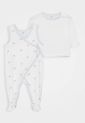 OVERALL ALLOVER SET  - Pyjamas - white pebble