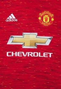 adidas Performance - MANCHESTER UNITED AEROREADY FOOTBALL - Club wear - reared - 2