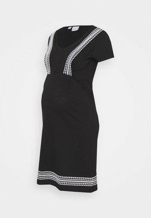 MLSLOAN MARY DRESS - Jerseyjurk - black/snow white