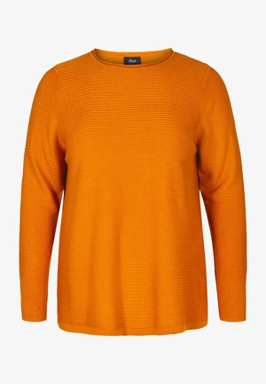 Jumper - dark yellow