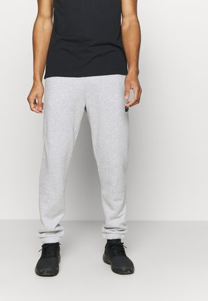 CENTRE PANT - Tracksuit bottoms - light grey melange