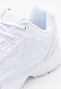 Kappa - RAVE  - Sports shoes - white - 5