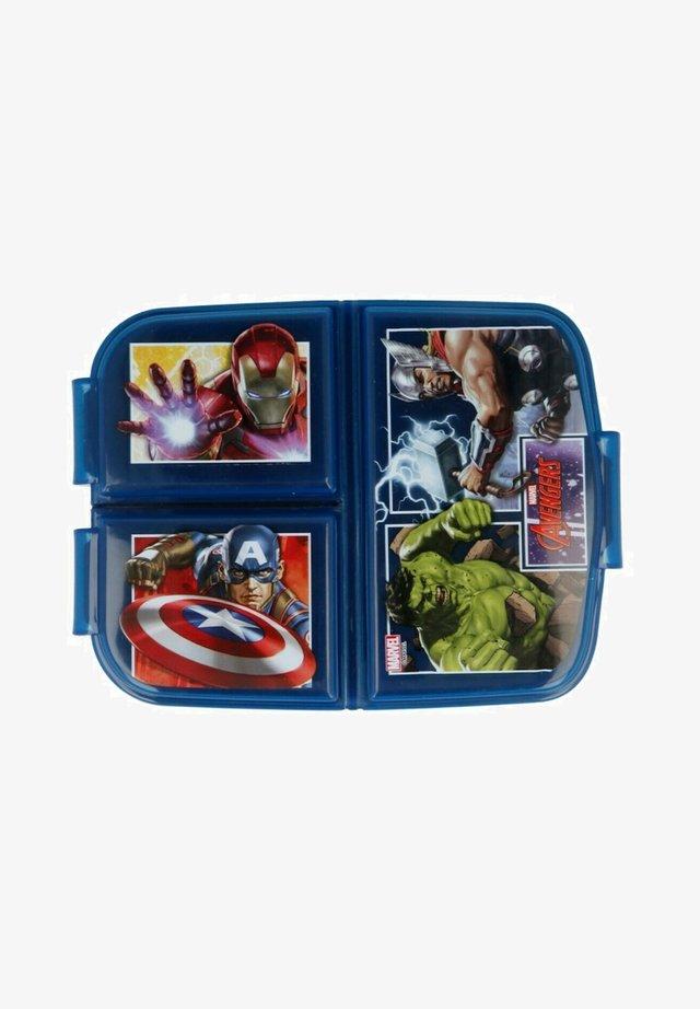 MIT 3 FÄCHER - Lunch box - blau