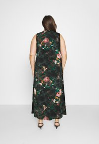 Anna Field Curvy - Maxi šaty - black/red - 2