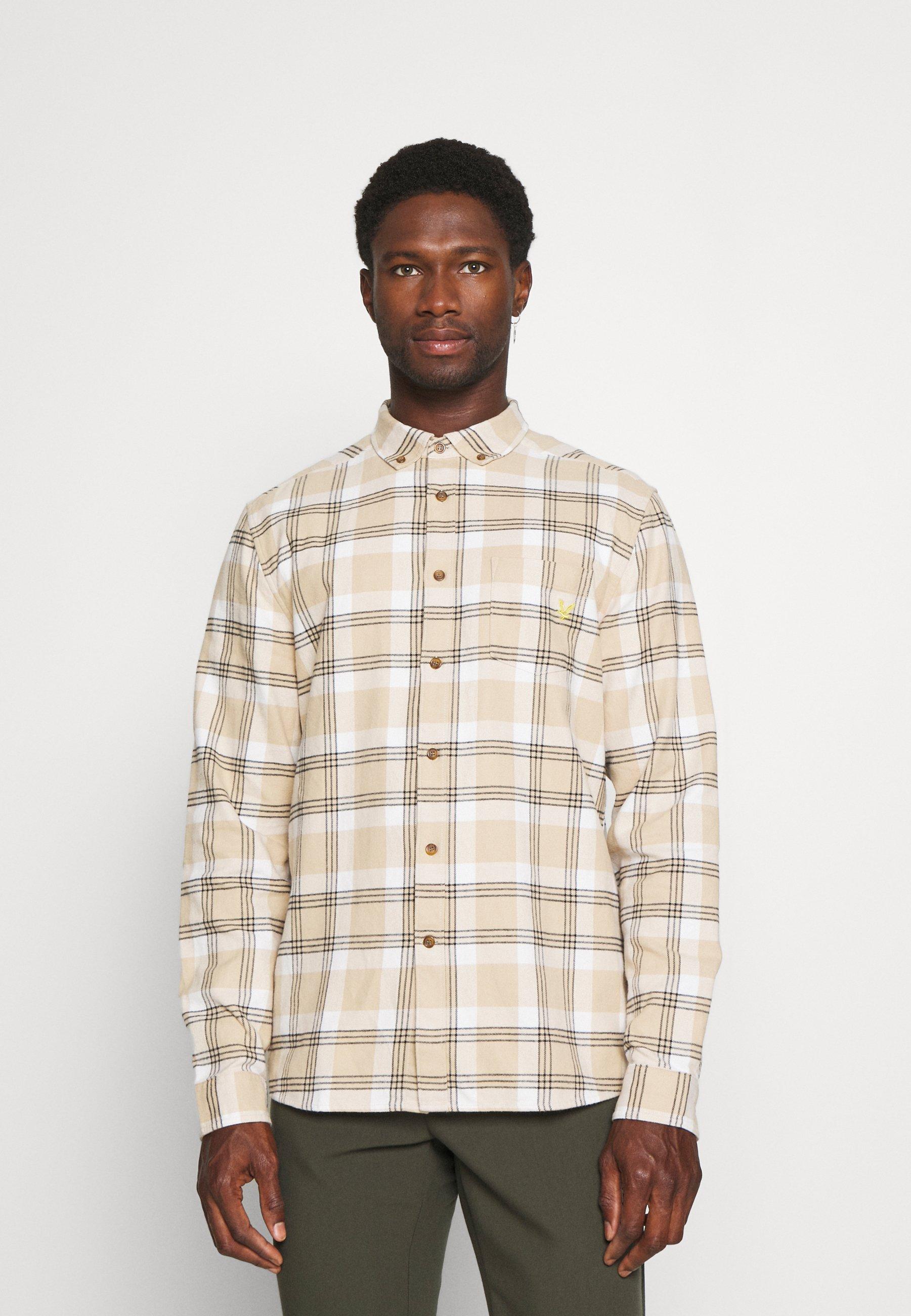 Uomo BRUSHED CHECK SHIRT - Camicia