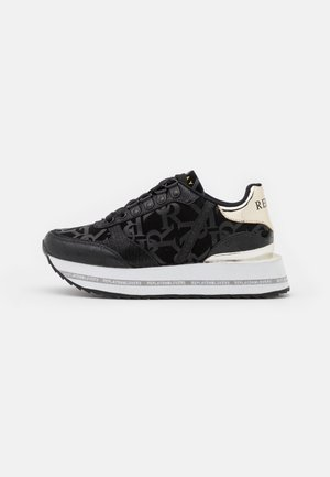 HENIKER - Sneakersy niskie - black
