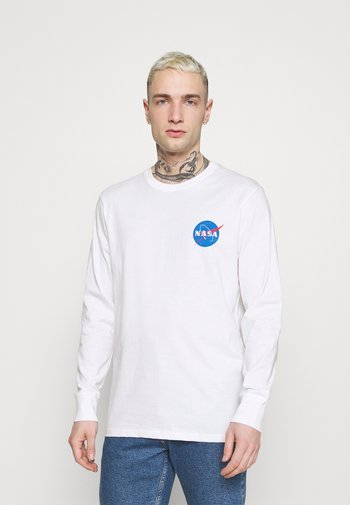 TBAR COLLABORATION TEE - Long sleeved top - white