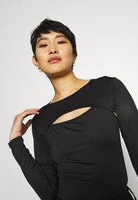 Trendyol - Long sleeved top - black - 3
