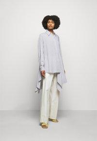 MM6 Maison Margiela - Button-down blouse - white - 1