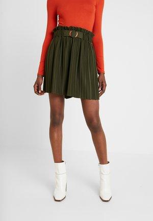 EMARLY - Mini skirts  - urban khaki