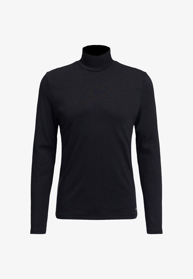 MET COLKRAAG - T-shirt à manches longues - black