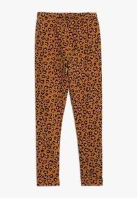 Friboo - 2 PACK - Leggings - Trousers - sudan brown/anthracite - 1