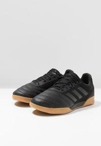 adidas Performance - COPA 19.3 IN SALA - Botas de fútbol sin tacos - core black - 2