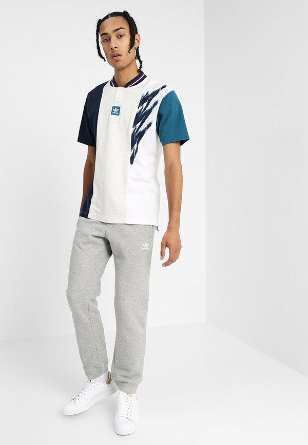 adidas Originals TREFOIL PANT UNISEX - Spodnie treningowe - mottled grey/szary melanż Odzież Męska YIUO
