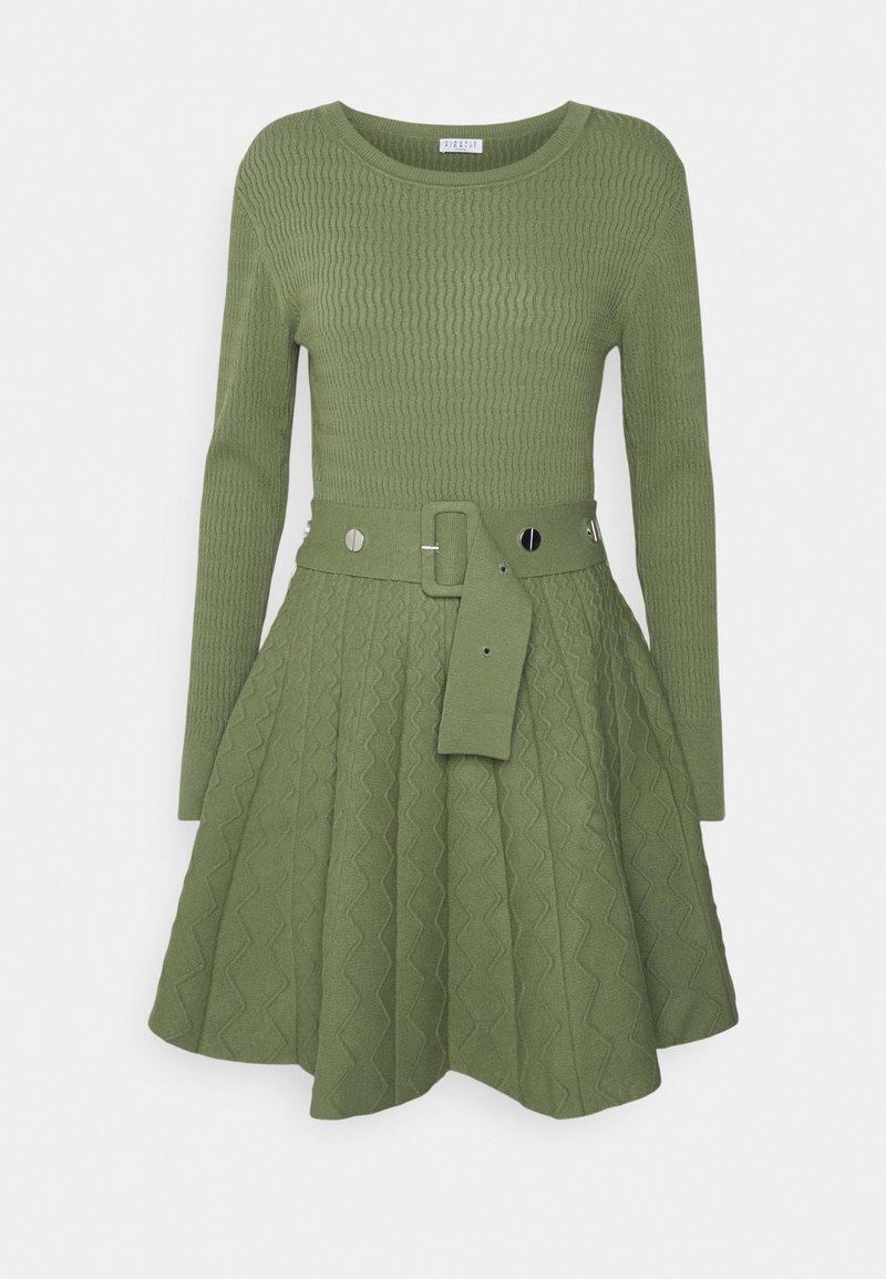 Claudie Pierlot - MAUDBIS - Jumper dress - lichen