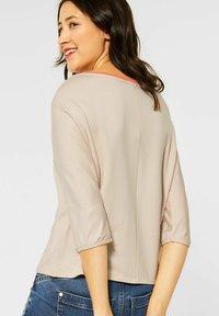 Street One - Long sleeved top - beige - 1