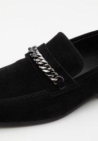 Pier One - Scarpe senza lacci - black - 5