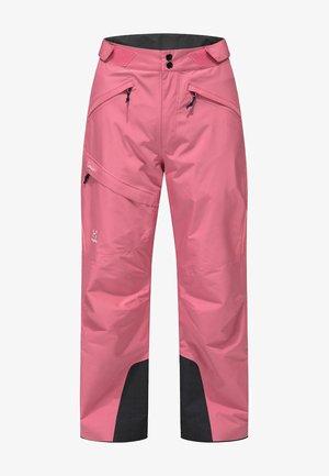 LUMI LOOSE PANT - Schneehose - tulip pink