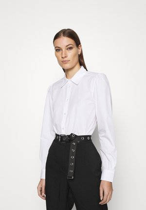 Button-down blouse - white light