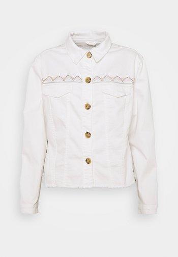 CRKOPINA JACKET - Denim jacket - snow white